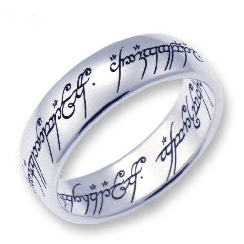 Herr der Ringe Schmuck by Schumann Design Der eine Ring Edelstahl poliert Rg 62 1000-062