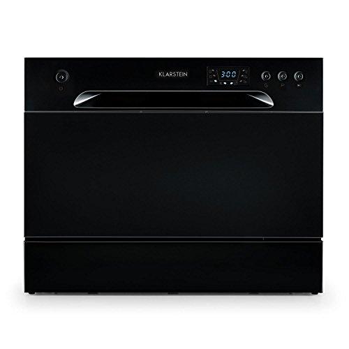 Klarstein Amazonia 6 - Lave-vaisselle de table, A+,1380W, 6 couverts, 49 dB,noir