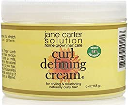 Jane Carter Solution | Curl Defining Cream (6oz) - Reduce Frizz, Nourish, Lightweight