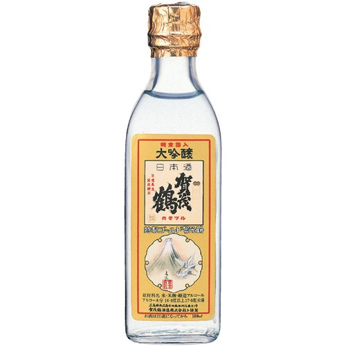 大吟醸 特製 ゴールド賀茂鶴 角瓶 [ 日本酒 広島県 180ml ]