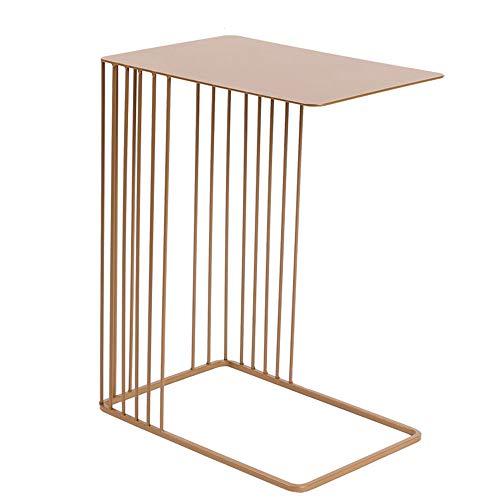 Industrial Bank Tafel, Nordic Smeedijzer Side Table, keurt metalen frame, voor huis, Living Room, Office,Gold
