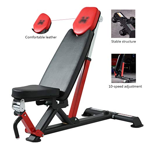 Haltère Selles Hommes Bench Press Tabouret Gymnase Presse Banc Tabouret De Fitness Tabouret De Formation Professionnelle Abdominale Strong Portante (Color : Black, Size : 137 * 73cm)