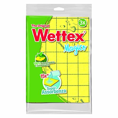 Wettex - Panno multiuso, Super Assorbenza - 3 pezzi