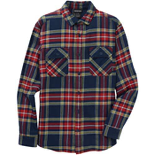 Burton Herren Hemd M Brighton FLNL SLM, Größe:S, Farben:Dress Blue Stump PLD