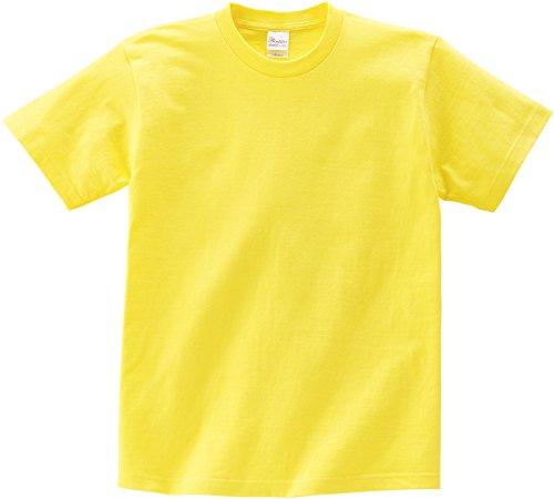 プリントスター 半袖 5.6オンス へヴィー ウェイト Tシャツ 00085-CVT キッズ イエロー 日本サイズ 160cm