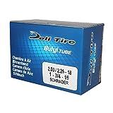 Camera d'aria Deli Tire Moto 50 NC U229S / 2.00 a 2.25-18 1.75-19