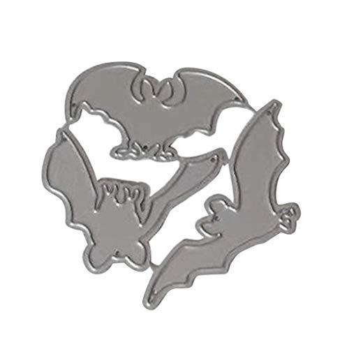 LQH El Corte del Palo de Halloween Metal Matrices de estampación de la Plantilla DIY álbum de Recortes de Papel Tarjeta del álbum