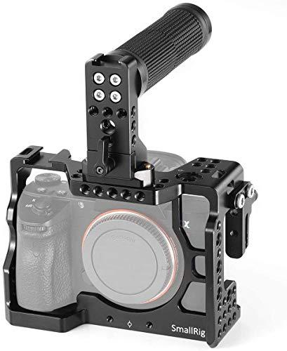 SMALLRIG A7III Kamera Cage Kit für Sony A7RIII / A7III mit Top NATO Handle und HDMI Cable Clamp - 2096
