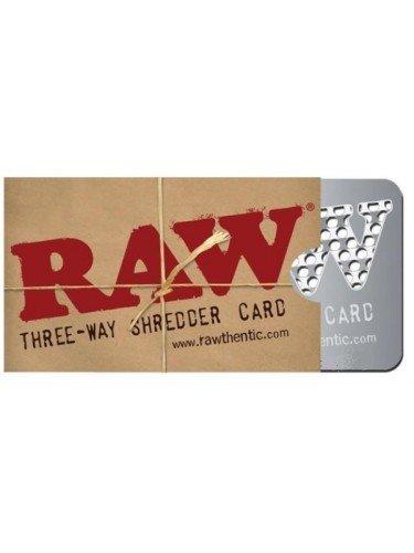 Raw Three Way Shredder Grinder Cards Raw Pack Of 1