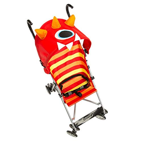 Character Umbrella Stroller in Monster Elliott Red Metal Jpma...