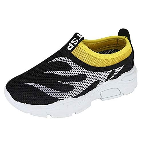 YWLINK NiñOs Y NiñAs Zapatos,Estampado De Llama, Zapatos Transpirables, Zapatos De Malla, Zapatos para NiñOs.Zapatillas De Deporte Antideslizante Corriendo Ciclismo Fiesta Regalo