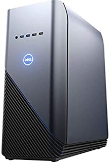 Dell Inspiron 5676 Gaming PC 24GB RAM, 1TB HDD, AMD Ryzen 7 2700 8-Core up to 4.10 GHz, Radeon RX580 4GB, VR Ready Desktop, RJ-45 Ethernet, Windows 10
