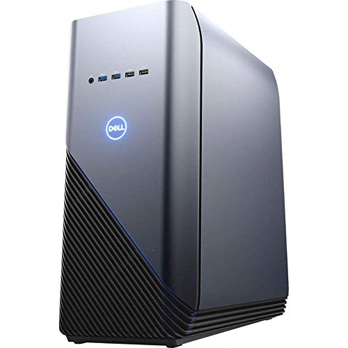 Dell Inspiron 5676 Gaming PC 16GB RAM, 256GB SSD+1TB HDD, AMD Ryzen 7 2700 8-Core up to 4.10 GHz, Radeon RX580 4GB, VR Ready Desktop, RJ-45 Ethernet, Windows 10