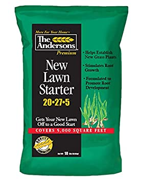 The Andersons Premium New Lawn Starter 20-27-5 Fertilizer - Covers up to 5,000 sq ft  18 lb