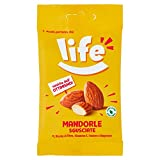 Life Mandorle Sgusciate Mandorle Pelate Ricche di Fibre e Vitamine, Frutta Secca, Snack Fr...