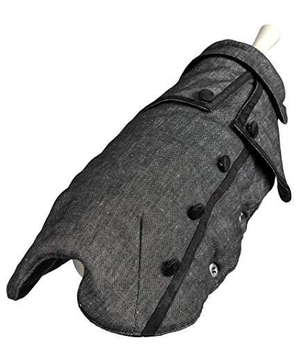 Wouapy Mantel Madeleine von Wouapy, Größe 28, eleganter Mantel, schützt Ihren Hund vor Witterungseinflüssen