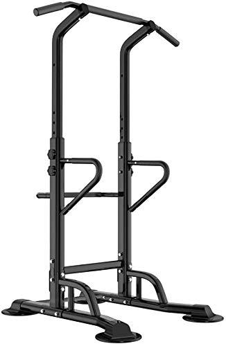 SogesPower - Stazione multifunzione per dip e trazioni, adatta per allenarsi a casa, altezza regolabile, SP-PSBB002