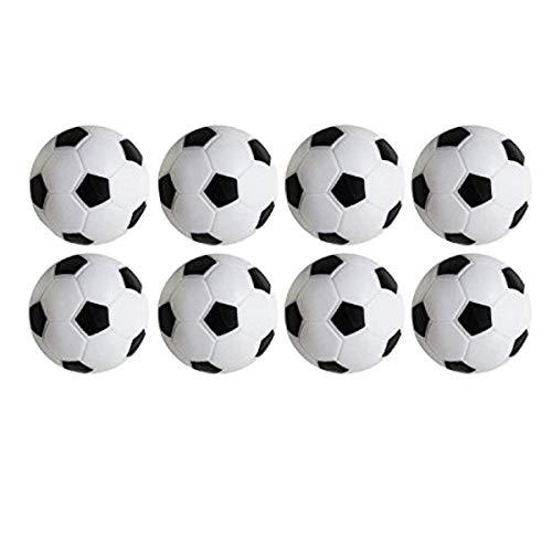 Find Bargain Foosball/Soccer Game Table Soccer Balls: 36 mm Regulation Size Foosballs, Black/White, ...