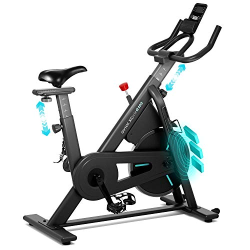 OVICX Stationary Bike with Magnetic Resistance Exercise Bikes Indoor Cycling Bike Fully...