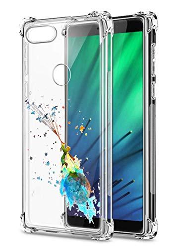 Oihxse Transparent Silicone Mignon Case Compatible pour Xiaomi Redmi K20/K20 Pro Coque TPU Souple Ultra Mince Housse Clear Crystal Design Motif Anti-Scrach Protection Etui Bumper (A3)