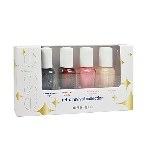 Essie Nail Lacquer - Retro Revival Collection 2015 - Mini 4 Pack - 5ml / 0.16oz Each