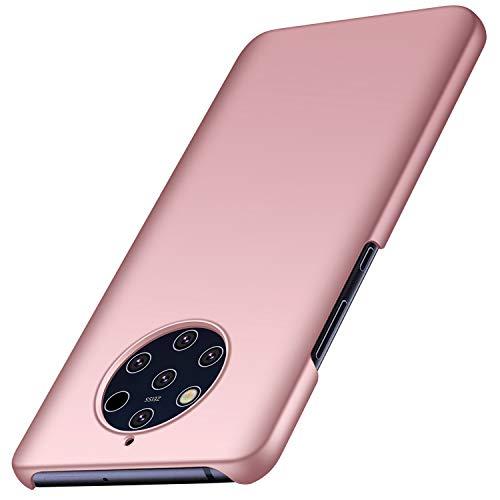 Avalri Nokia 9 Pureview Hülle, Superdünne Handyhülle Hardcase aus PC Stoß- & Kratzfest Kompatibel mit Nokia 9 Pureview (Glattes Rosen-Gold)