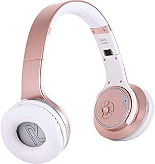 SODO Twist Out Loud Speaker Bluetooth Headphone, Pink - MH1