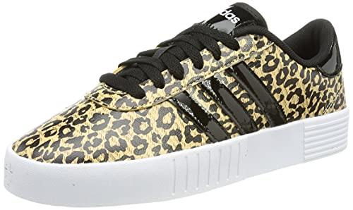 adidas Women's Court Bold Fitness Shoes, BEIBRU/NEGBÁS/Carton, 7 UK