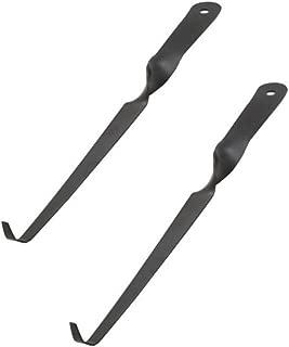 Eforlike 2 Pcs Stainless Steel Wick Dippers (Black)