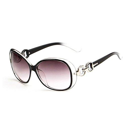 Westeng Frauen polarisierten Sonnenbrillen Dame Brillen mit großem Rahmen UV 400 Schutz für das Fahren/Angeln/Golf,Schwarz