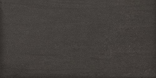 fliesenmax Feinsteinzeug Bodenfliese Ermes Aurelia Kronos nero lappato 45x90cm Natursteinoptik