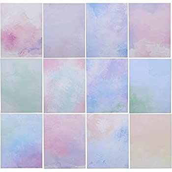 96 Sheets Watercolor Writing Stationery Paper  8.5 x 11 Inches