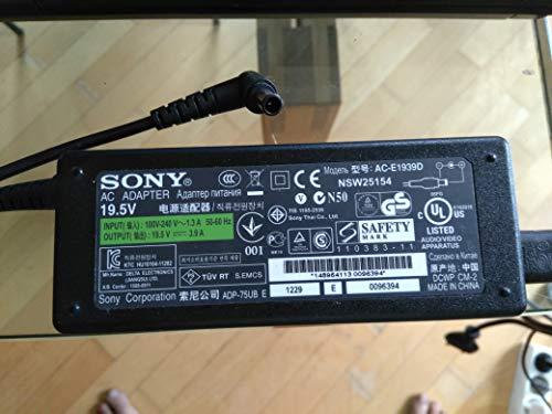 SONY VGP-AC19V37 AC-Adapter 100% Sony VAIO Netzteil 19,5V / 3,9A