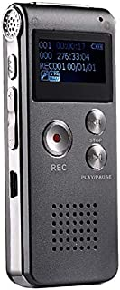 Player Sunzimeng SK-012 8GB Voice Recorder USB Professional Dictaphone Digital Audio with WAV MP3 Player VAR Function Reco...