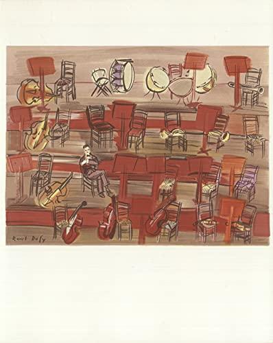 Raoul DUFY L'Entracte - Litografía (30,5 x 24,1 cm, impresionismo 1965)