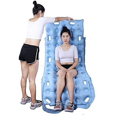 Yongqin Anti-decubitus kussen Yongqin Premium Air Matras Pad voor Medisch Bed Inclusief opblaasbare pomp en pad drukpijn en drukzweer Relief, geen behoefte om elektriciteit te gebruiken