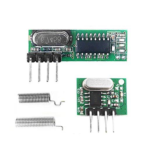 30 * 9 * 1mm 433 Mhz Superheterodyne RF Ontvanger En Zender Module Motorfiets Deel