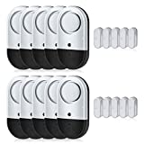 Door Window Alarms, Toeeson 120DB Pool Door Alarms for Kids Safety, Window Alarms for Home
