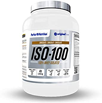 Perfect nutrition Iso-100 Whey Isolated - 1,8 kg Chocolate