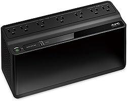 APC UPS, 600VA UPS Battery Backup & Surge Protector, BE600M1 Backup Battery Power Supply, USB Charger, Back-UPS Series...