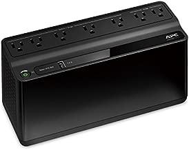 APC UPS, 600VA UPS Battery Backup & Surge Protector, BE600M1 Backup Battery Power Supply, USB Charger, Back-UPS Series Uninterruptible Power Supply