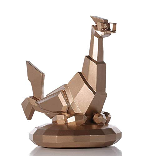FTFTO Équipement de Vie lunettes poulet Figurine résine artisanat Cadeau Art Moderne Figurine animaux ornements Pour la décoration intérieure