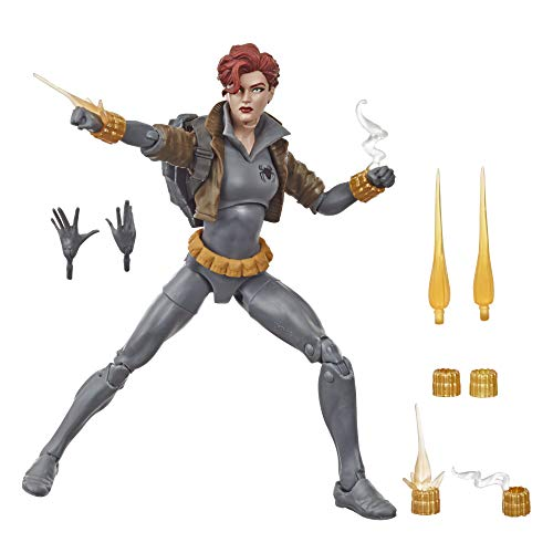 Hasbro - Black Widow Legends Gray Suit (Hasbro, E87135L0)