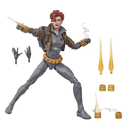 Marvel Legends Black Widow - Edition Collector - Figurine 15 cm Gray Suit