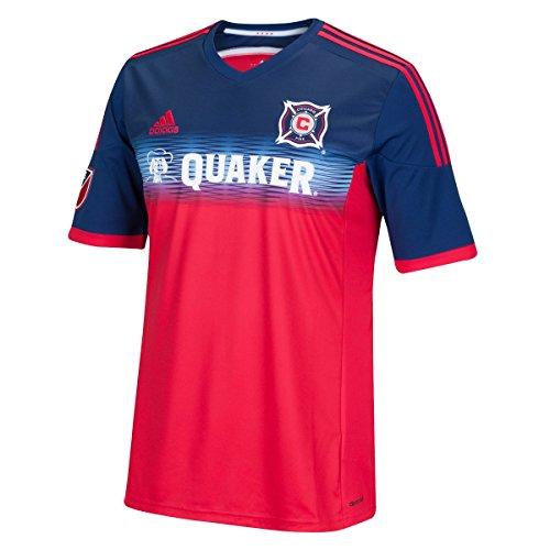 adidas MLS Herren Trikot Replica Short Sleeve, Herren, rot, X-Large