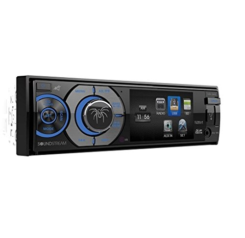 top 10 soundstream vr 346b Soundstream VR-345BDIN A / V source (with removable 3.4 inch LCD / Bluetooth)