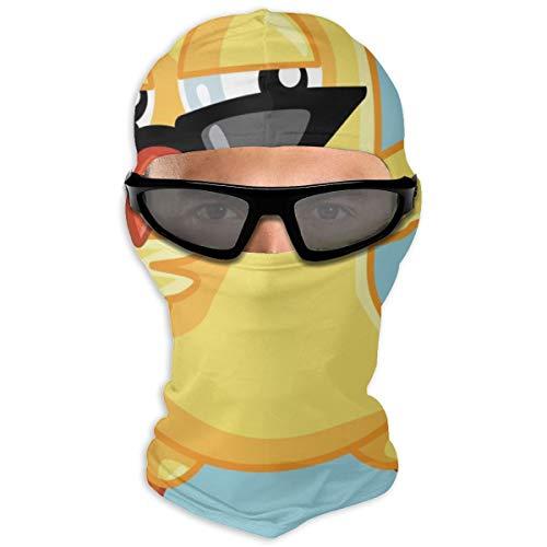 N/A Full Face Masker Leuke Baby Kip Het dragen van Koele Zonnebril En Dansende Hood Zonnebrandcrème Masker Dubbele Laag Koud Voor Mannen En Vrouwen