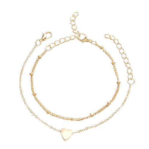 GanYu 2-Piece Bracelet, Ladies Bracelet Ladies Bracelet Bracelet Magnetic mom Bracelet Ladies Jewelry Gift