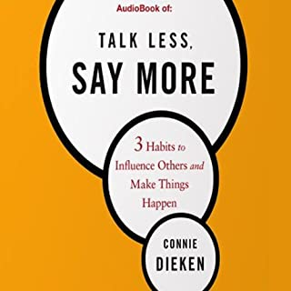 Talk Less, Say More cover art
