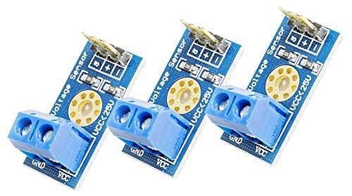 3Stück Mini Spannungssensor Voltage Sensor Modul bis 25V für Arduino Mikrocontroller